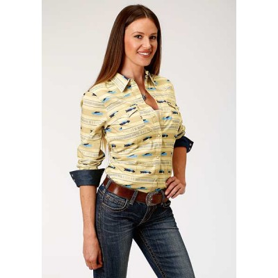 Blouse Roper Cloudy Sunset