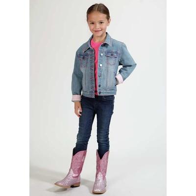 Jacket Jeans Roper gris pale fillette