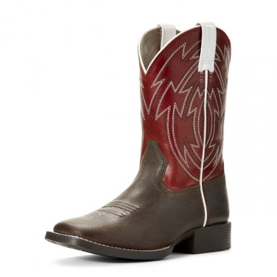 Botte Ariat Crossdraw rouge
