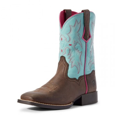 Botte Ariat Tombstone turquoise enfant