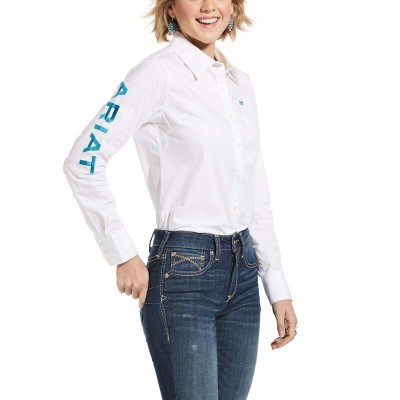 Blouse Ariat Kirby blanche femme