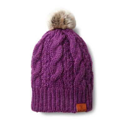 Tuque Ariat violet