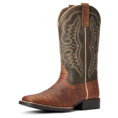 Botte Ariat ace cognac croc enfant
