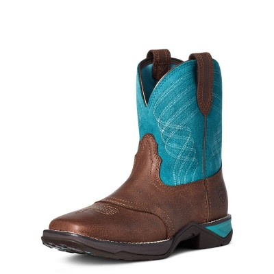 Botte Ariat Anthem Shortie turquoise femme