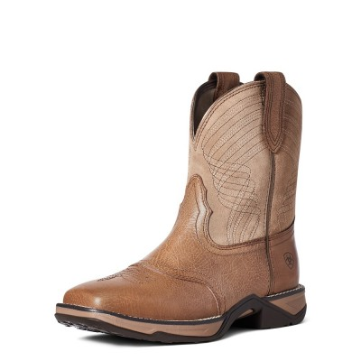 Botte Ariat Anthem Shortie beige femme