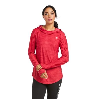 Chandail Ariat Laguna hoodie rouge femme