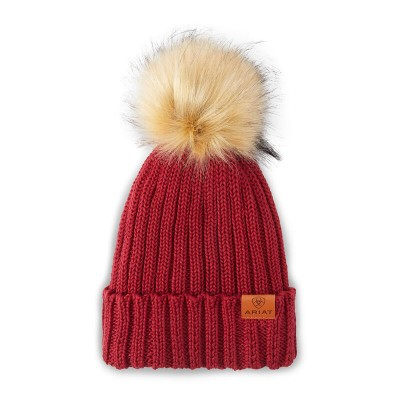 Tuque Ariat Cotswold rhubarbe
