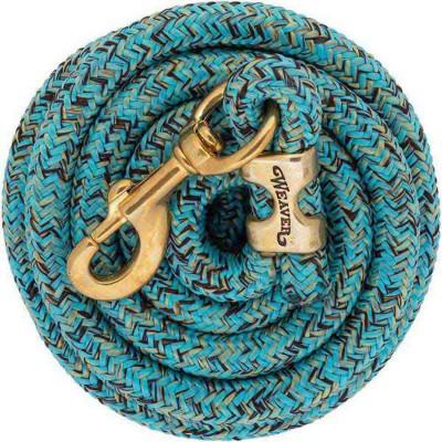 Laisse Weaver 10' mosaïque turquoise