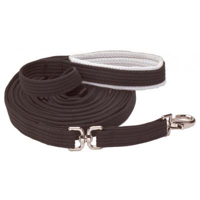 Longe coton  noir avec pivot
