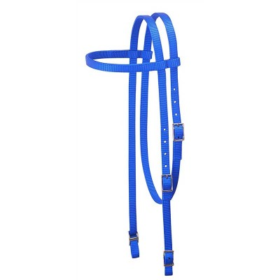 Bride nylon Weaver cheval bleu