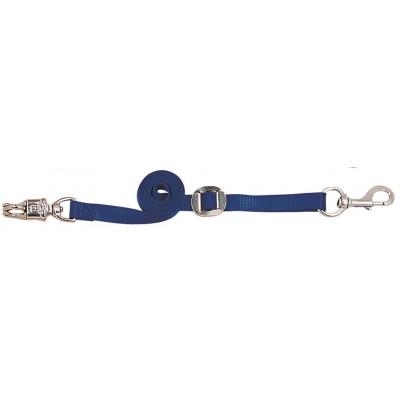 Attache cheval (paire) ajustable Weaver bleu