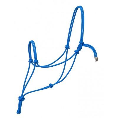 Licou de corde Weaver Silvertip bleu full
