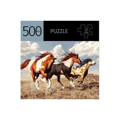 Casse tête chevaux 500 morceaux