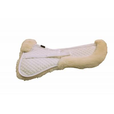 Half pad dressage en mouton correctionnel medium