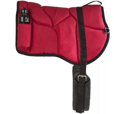 Bareback pad Best Friend rouge