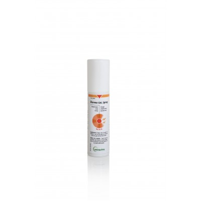 Derma gel spray 50 mL