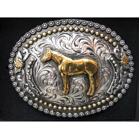 Boucle de ceinture AndWest cheval