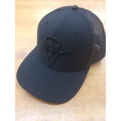 Casquette Crowellz noir logo noir