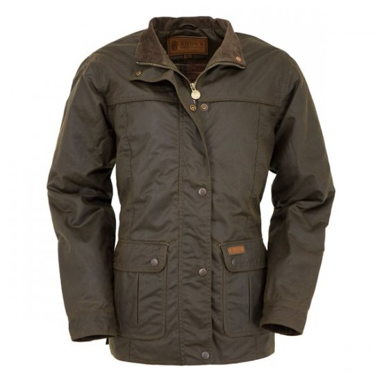 Manteau Outback Walkabout bronze