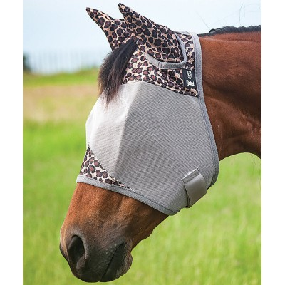 Masque à mouche Cashel léopard cheval