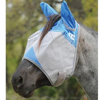 Masque à mouche Cashel bleu cheval