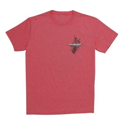 Chandail Wrangler rouge PBR