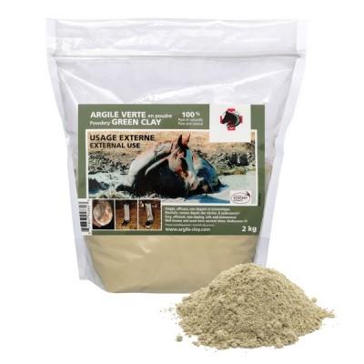 Argile verte en poudre usage EXTERNE 2 kg