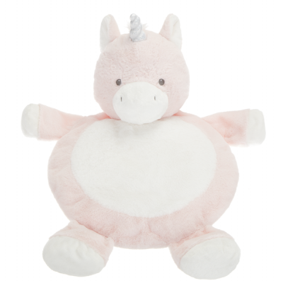 Coussin rond licorne
