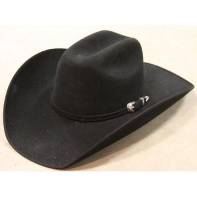 Chapeau de feutre noir