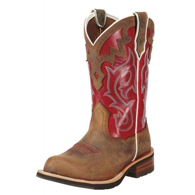 Botte Ariat rouge