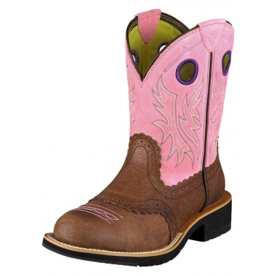 Botte Ariat Fatbaby rose