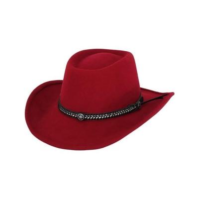 Chapeau durango rouge